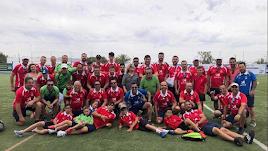 Un fiesta del fútbol en el Levante Almeriense.
