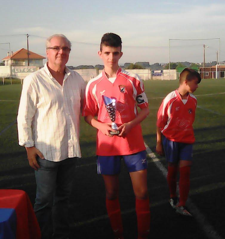 ADR Numancia de Ares. Cadetes 2016-2017. V Trofeo Vila de Ares. Numancia, 2 - G. Mugardos, 3. Prados Vellos.