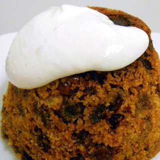 Gluten Free and Vegan Christmas Pudding.