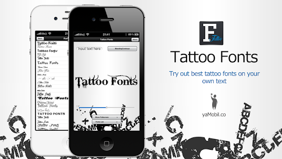 text tattoo designer android apps on google play. Black Bedroom Furniture Sets. Home Design Ideas