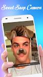 screenshot of Sweet Face Snap Selfie Photo Camera Editor