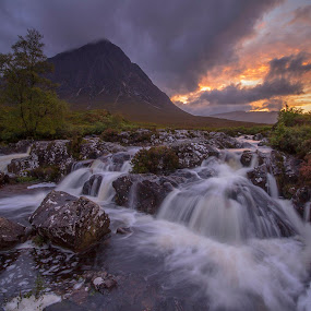 Buachaille Etive Mor by Maria Alexandra Abrunhosa - Landscapes Waterscapes (  )