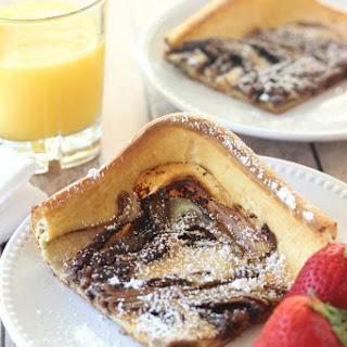 Nutella Swirl Puffy Pancake Recipe