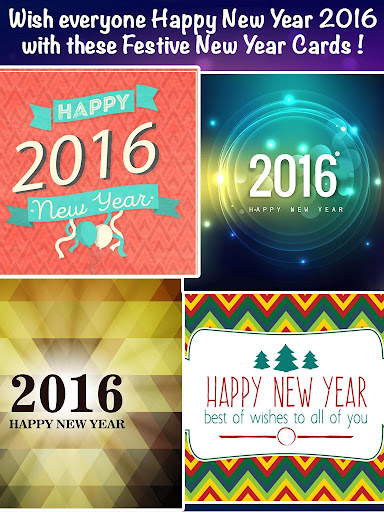 New Year 2016 Cards Greeting