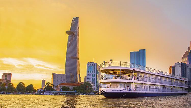 Du thuyền Sài Gòn Princess mang phong cách Châu Âu sang trọng