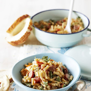 Macaroni with Chorizo and Tomato
