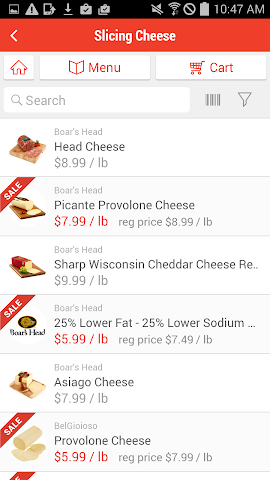 android ShopRite Deli Screenshot 2