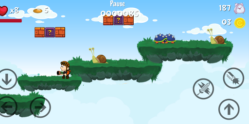 لقطات شاشة Super Adventure Run 7
