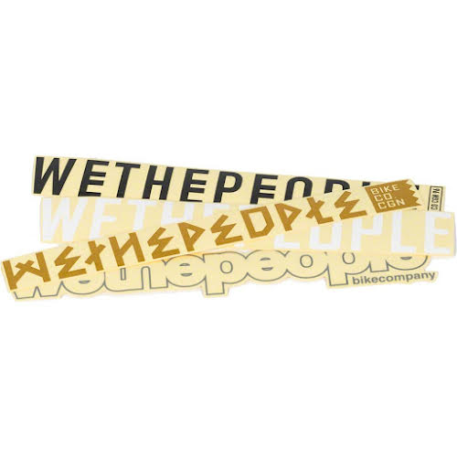 We The People 4BIG Sticker Set