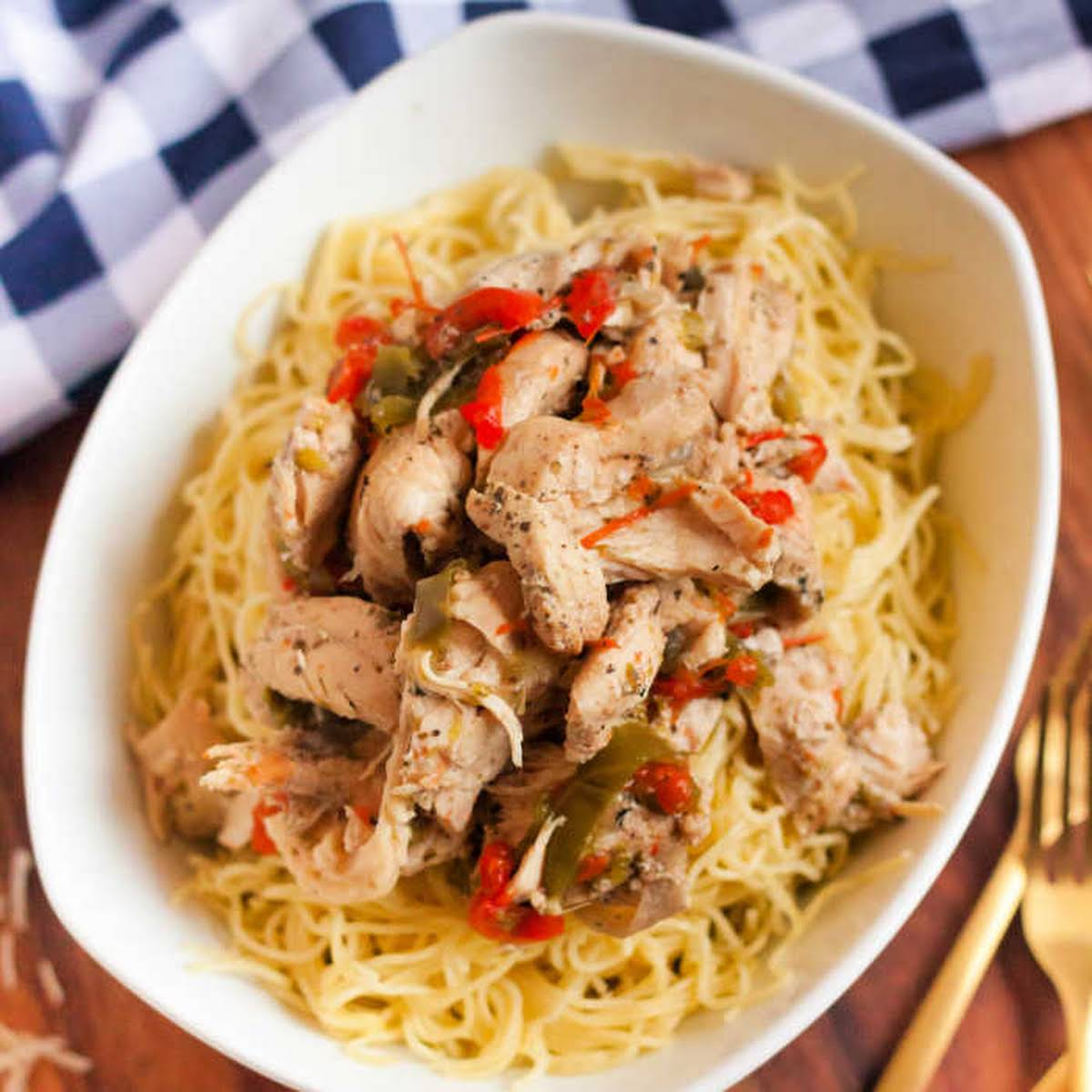 Quick and Healthy Chicken Scampi
