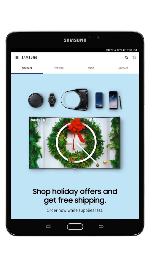 Shop Samsung- screenshot