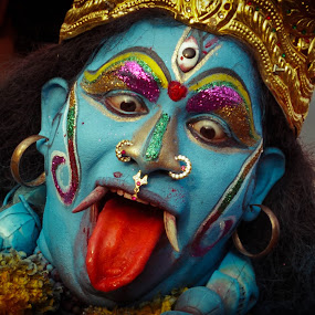 The Third Eye- Incredible India! by Shaikh Athfaan - People Street & Candids ( street, artist, people, dancer, body paint )