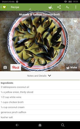 ChefTap Recipes & Grocery List Screenshot