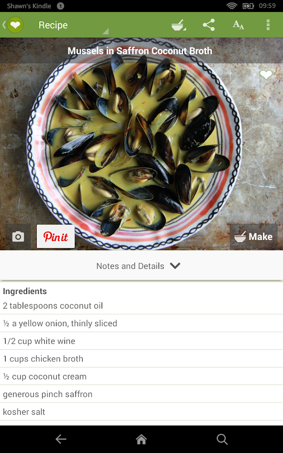 ChefTap Recipe Organizer- screenshot