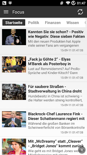 German News Reader