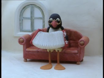 Pingu has Music Lessons