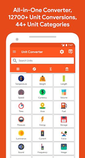 Unit Converter 2.1.78 screenshots 1