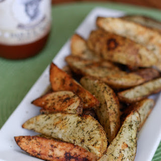 Roasted Dill Potato Wedges