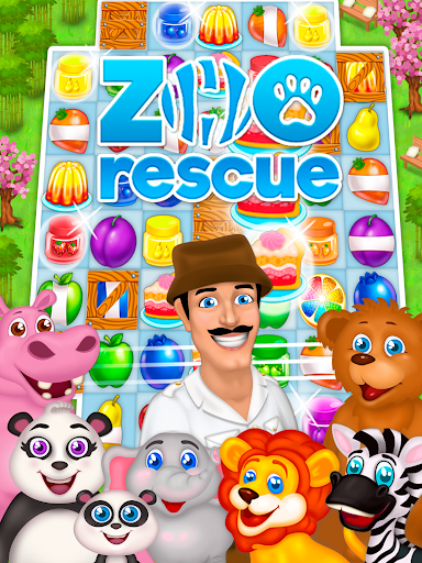 Zoo Rescue: Match 3 & Animals