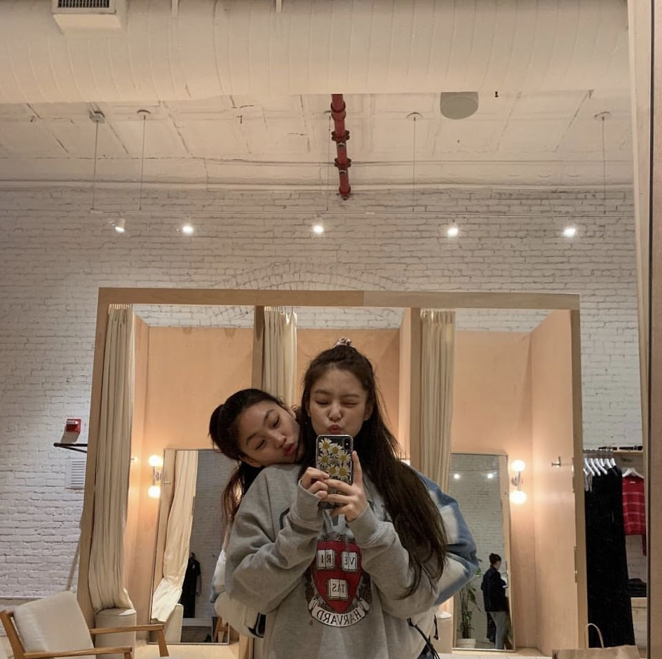 ho yeon and jennie