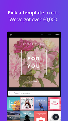 Canva: Poster, banner, card maker & graphic design 1.8.2 Screenshots 5