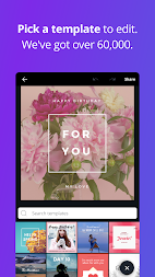 Canva: Poster, banner, card maker & graphic design APK screenshot thumbnail 5