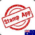 Stamps Australia, Philately icon