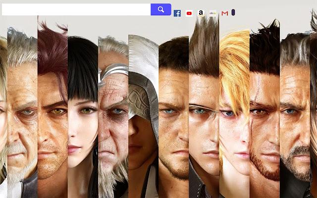 Final Fantasy XV Wallpapers.