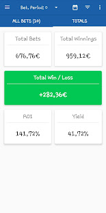 bet$ave - Control Your Betting Activity for PC-Windows 7,8,10 and Mac apk screenshot 2