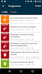 Portes Ouvertes EPFL 2016- screenshot thumbnail
