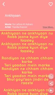 Hit Kanika Kapoor Songs Lyrics - náhled