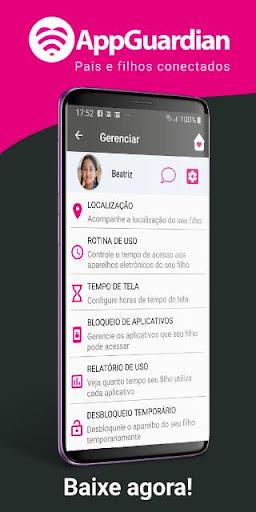 AppGuardian (Versu00e3o Pais) - Controle Parental 2.4.4 screenshots 2
