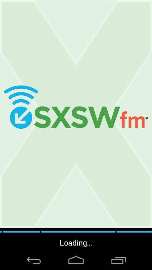 SXSWfm® - screenshot