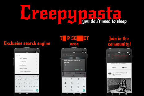 💀 Creepypasta + SCP - PREMIUM Screenshot