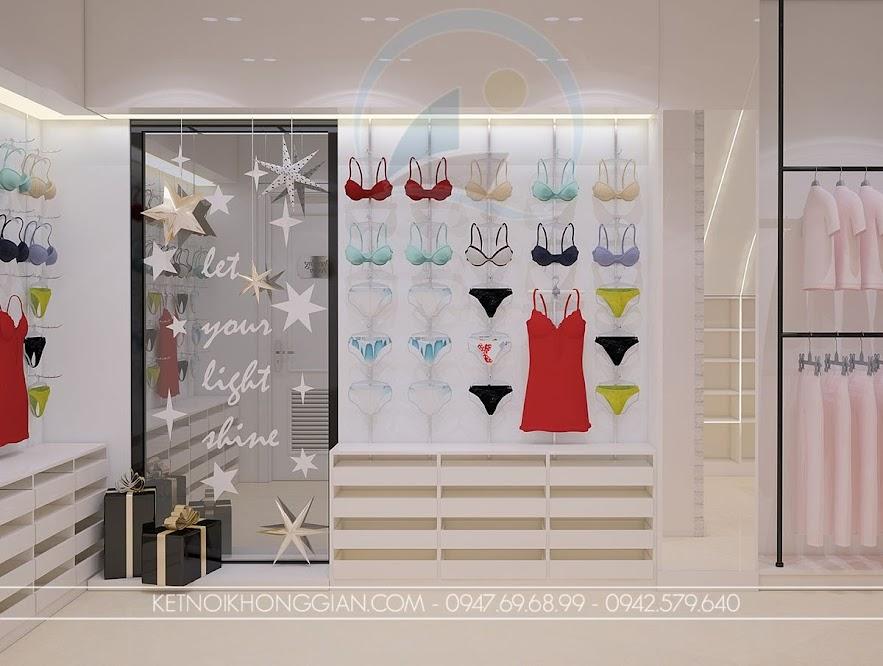 trang trí thiết kế shop thời trang nữ