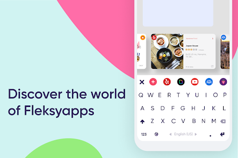 Fleksy Keyboard: FREE Themes + GIFs & Emojis Screenshot
