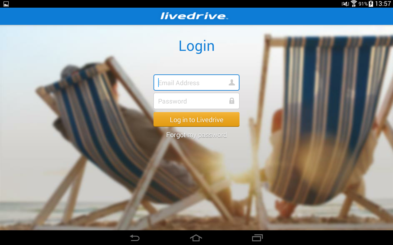 Livedrive Mobile - screenshot