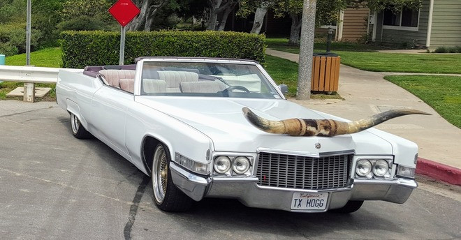 1969 Cadillac DeVille TX HOGG Hire Costa Mesa