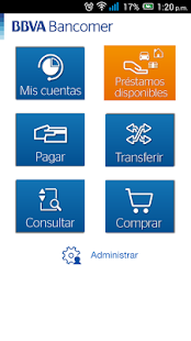 Bancomer móvil- screenshot thumbnail