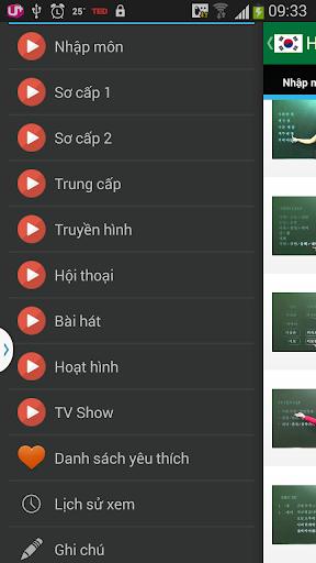 Hoc Tieng Han qua Video