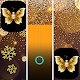 Gold Glitter ButterFly Piano Music Tiles 🎹