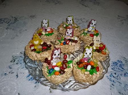 Leila's Miniture Easter Basket's Recipe
