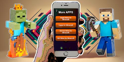 Download Super Saiyan Goku skins for MCPE for android   Seedroid