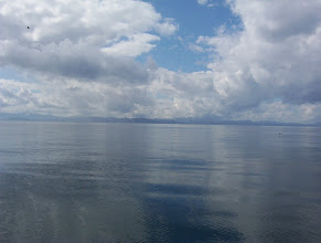 Photo: Strait of Juan da Fuca on a calm day