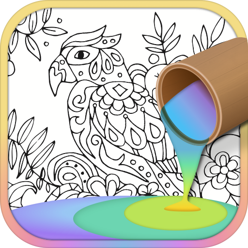 Animals Coloring Game 休閒 LOGO-玩APPs