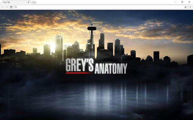 Grey's Anatomy New Tab & Themes