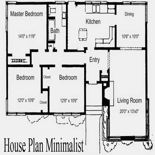 House Plan Minimalist