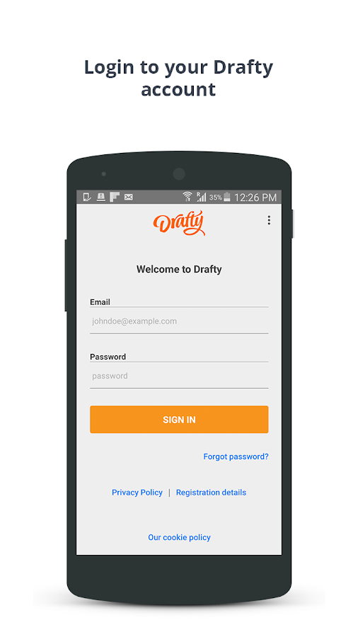 Drafty | Get cash fast- screenshot