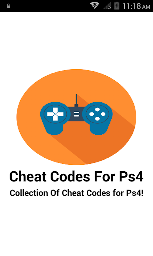 Cheat Codes For Ps4 1.1 screenshots 1