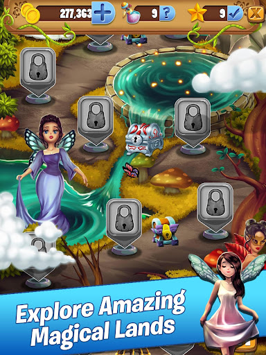 Bubble Pop Journey: Fairy King Quest modavailable screenshots 10